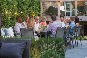 Ultimate Toronto Backyard for Eating and Entertaining