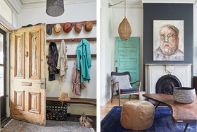 London Designer Dishes About Her Distinctive Bohemian Interiors