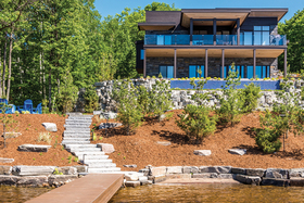 Urban With a Rustic Twist in Muskoka