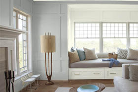 Using Sophisticated Metropolitan AF-690 in Your Home – Benjamin Moore's 2019 Colour of the Year