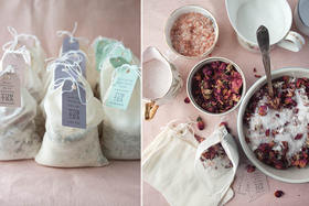 Soak in These Luxurious Homemade Herb Blends for Your Bathtub
