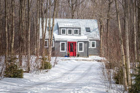 Five Acres of Hardwood Bush and a Bright Red Front Door