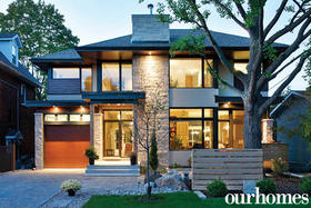 Architectural Gem: Two Architects Design their Dream Home in Westboro