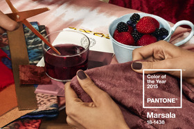 Marsala Named Pantone's Colour Of The Year For 2015