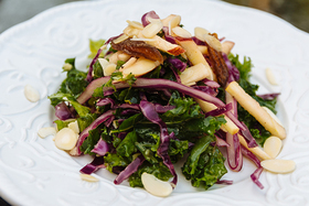 Summer Slaw with Kale and Apples