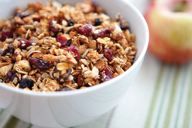 Start the Day With a Heaping Bowl of Homemade Granola