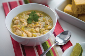 White Chicken Chili Twist on a Classic Make-Ahead Meal