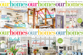 Spring 2017 Print Editions of OUR HOMES