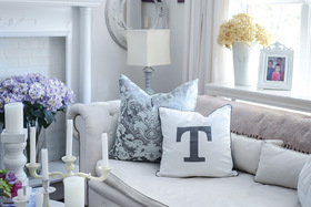 17 Ways to Personalize Your Space with Monograms