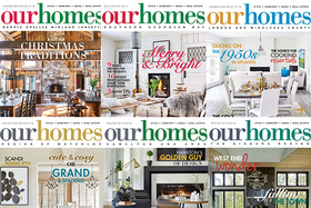 Holiday/Winter 2017/2018 Digital Editions of OUR HOMES