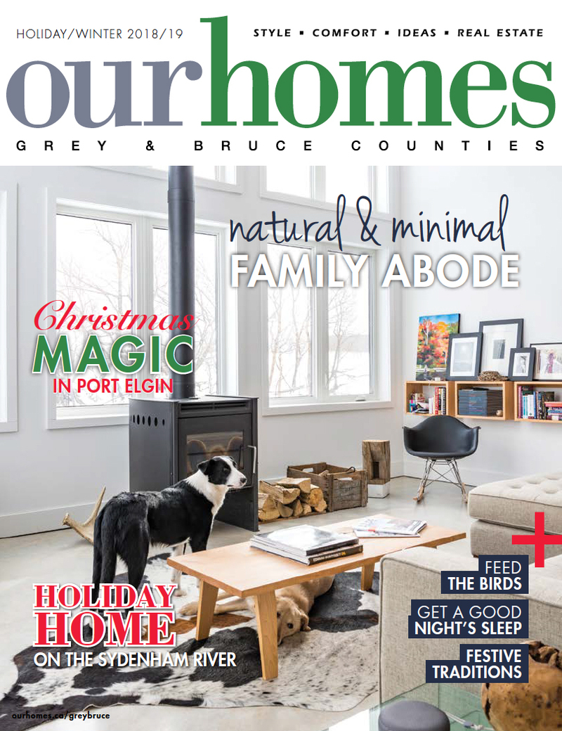 OUR HOMES Grey & Bruce Counties Holiday/Winter 2018/19