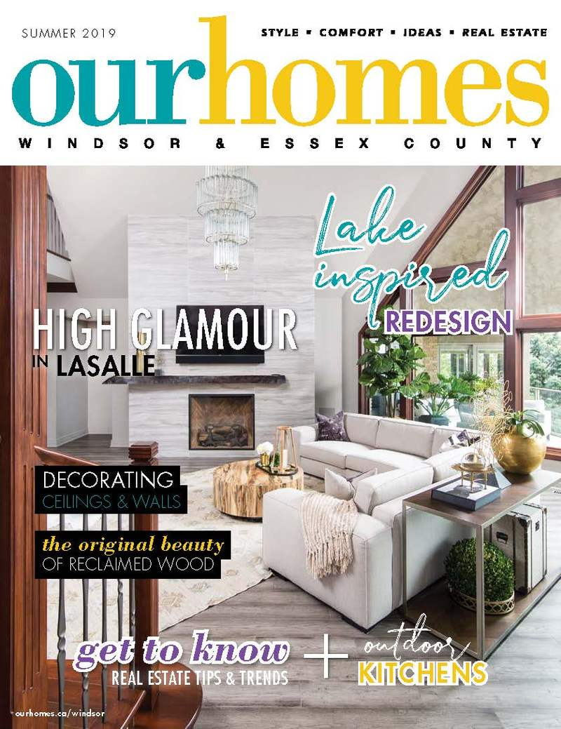 On Stands: OUR HOMES Windsor & Essex County | Our Homes Magazine
