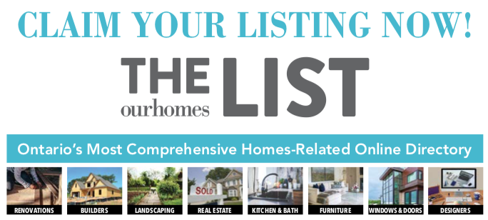 Attention business owners: Are you on THE LIST? | Our Homes Magazine