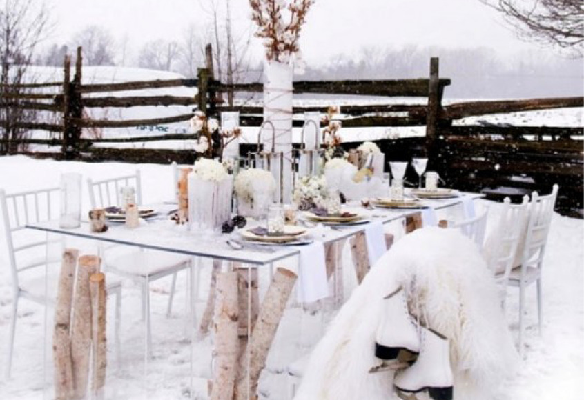 Outdoor Winter Party Ideas Our Homes Magazine
