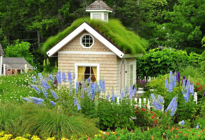 Garden House, Coastal Maine Botanical Gardens